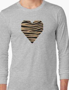0100 Camel, Fallow, Lion, Wood Brown or Desert Tiger Long Sleeve T-Shirt