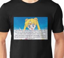 Sailor moon anti semitism Unisex T-Shirt