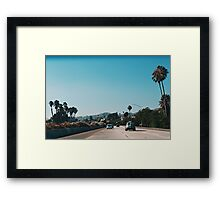 The Pacific Coast Highway No.2 (California) Framed Print