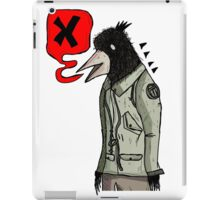Empty Threats from the Birdman  iPad Case/Skin