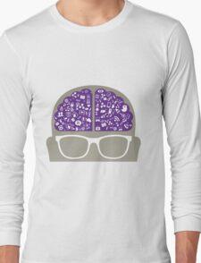 smart-data-head Long Sleeve T-Shirt