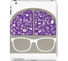 smart-data-head iPad Case/Skin