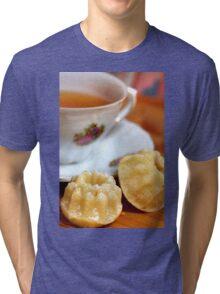 Teatime With Minigugls Tri-blend T-Shirt