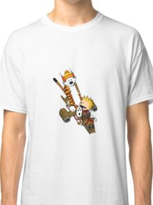 captain calvin and hobbe Classic T-Shirt