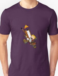 captain calvin and hobbe T-Shirt