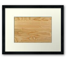 Wood Base Framed Print