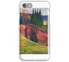 From Thuringewald - Edvard Munch iPhone Case/Skin