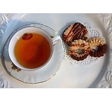 Little Teatime  Photographic Print