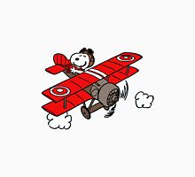 flying snoopy Unisex T-Shirt