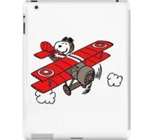 flying snoopy iPad Case/Skin