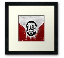 Flash Framed Print