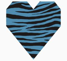 0106 Deep Sky Blue or Capri Tiger One Piece - Long Sleeve