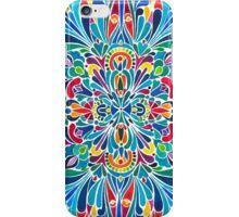 Caribbean inspired  watercolor mandala pattern iPhone Case/Skin