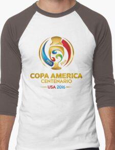 Copa America Centenario, Usa 2016 Men's Baseball ¾ T-Shirt