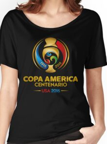 Copa America Centenario, Usa 2016 Women's Relaxed Fit T-Shirt