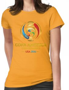 Copa America Centenario, Usa 2016 Womens Fitted T-Shirt