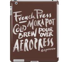 Coffee Time iPad Case/Skin