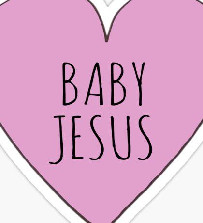 Baby Jesus Love Sticker
