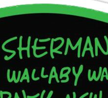 P. Sherman 42 Wallaby Way Sydney, NSW Sticker