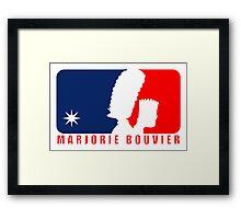 Marjorie Bouvier Framed Print