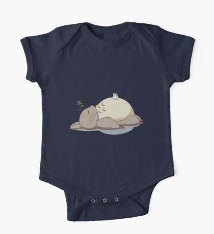 sleepy totoro One Piece - Short Sleeve