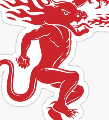 Fireball Logo Sticker