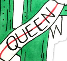 Queen Cactus Sticker