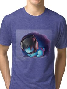 tear drop  Tri-blend T-Shirt