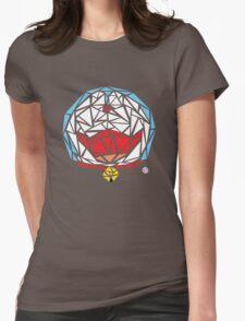 Doraemon Scribble Womens Fitted T-Shirt