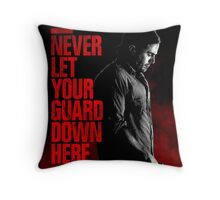 Triple 9 Casey Affleck Throw Pillow