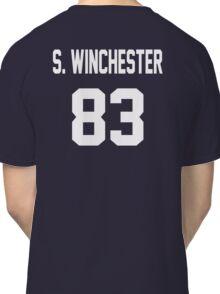Supernatural Jersey (Sam Winchester) Classic T-Shirt