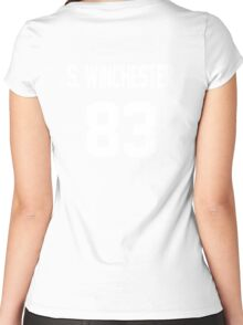 Supernatural Jersey (Sam Winchester) Women's Fitted Scoop T-Shirt