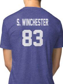 Supernatural Jersey (Sam Winchester) Tri-blend T-Shirt