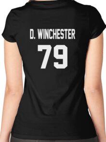 Supernatural Jersey (Dean Winchester) Women's Fitted Scoop T-Shirt