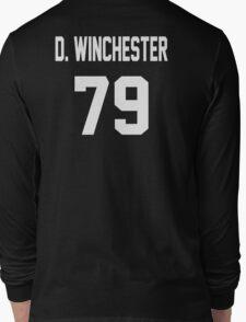 Supernatural Jersey (Dean Winchester) Long Sleeve T-Shirt