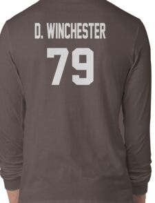 Supernatural Jersey (Dean Winchester) Long Sleeve T-Shirt