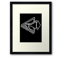 Everything Counts Framed Print