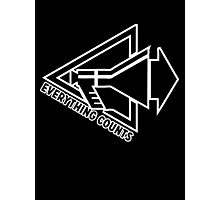 Everything Counts Photographic Print