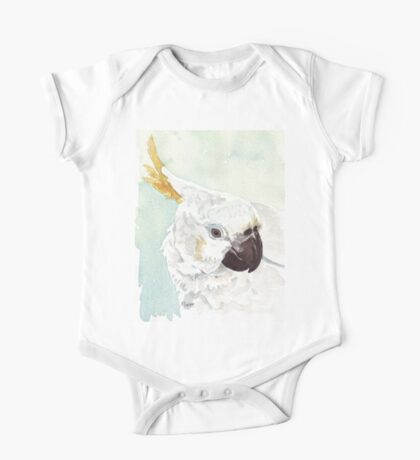 Danny, the Cockatoo 2 One Piece - Short Sleeve