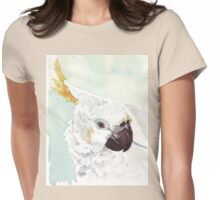 Danny, the Cockatoo 2 Womens Fitted T-Shirt