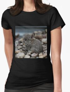 SMALL BABY BUNNY Womens Fitted T-Shirt