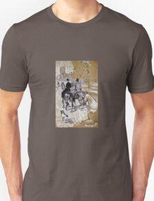 Henri De Toulouse-Lautrec - Riders On The Way To The Bois Du Bolougne T-Shirt