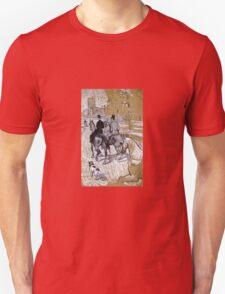 Henri De Toulouse-Lautrec - Riders On The Way To The Bois Du Bolougne Unisex T-Shirt