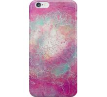 Watercolor World Map iPhone Case/Skin