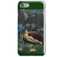Henri Rousseau - The Dream iPhone Case/Skin