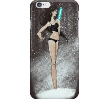 Transe in the snow iPhone Case/Skin