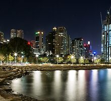 Night at Barangaroo by yolanda