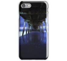 Grange Jetty in the wintertime iPhone Case/Skin