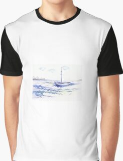 Empty Boat Graphic T-Shirt