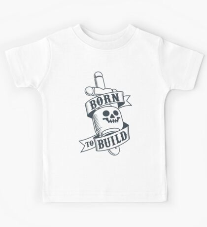 Master Builders only - clear Kids Tee